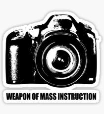 weapon of mass instruction Sticker