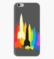 Rocket Rainbow iPhone Case