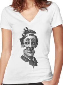The Visionary Women's Fitted V-Neck T-Shirt