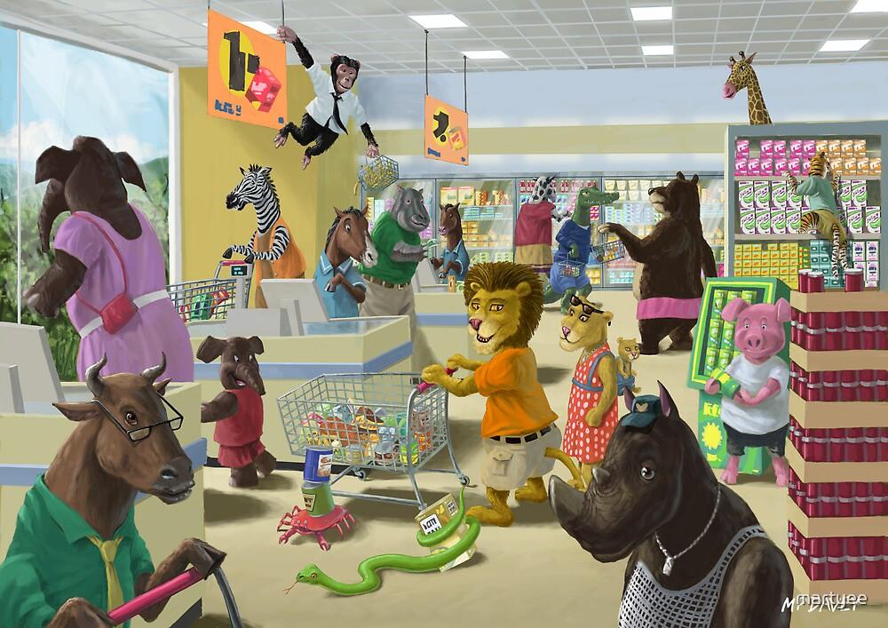 Animal Supermarket by martyee
