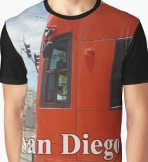 San Diego Red Mover Graphic T-Shirt
