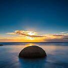 Moeraki Boulders Beach by Adrian Alford Photography