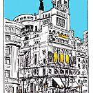 Circulo de Bellas Artes, Madrid by Nathan Brenville