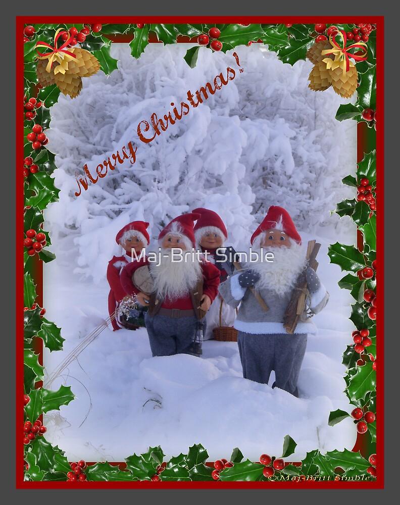 Merry Christmas - card17  :-) by Maj-Britt Simble