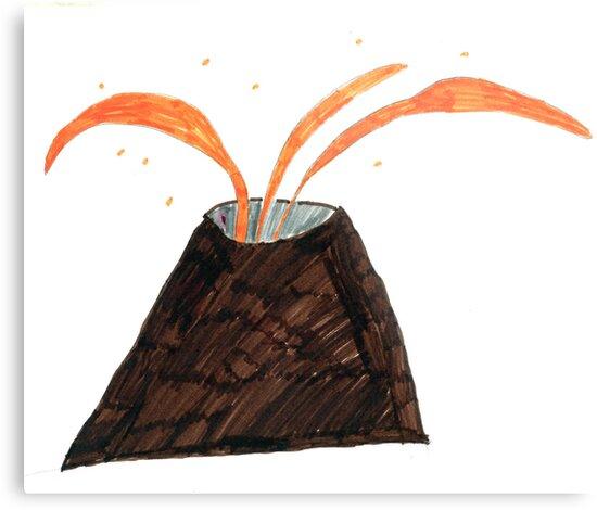 Under The Volcano by Minerva -Athina