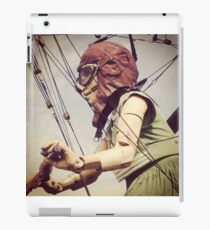 Giant Puppet Doll Girl Arrives In Liverpool iPad Case/Skin