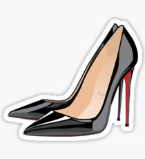 heels aka femme fatale Sticker