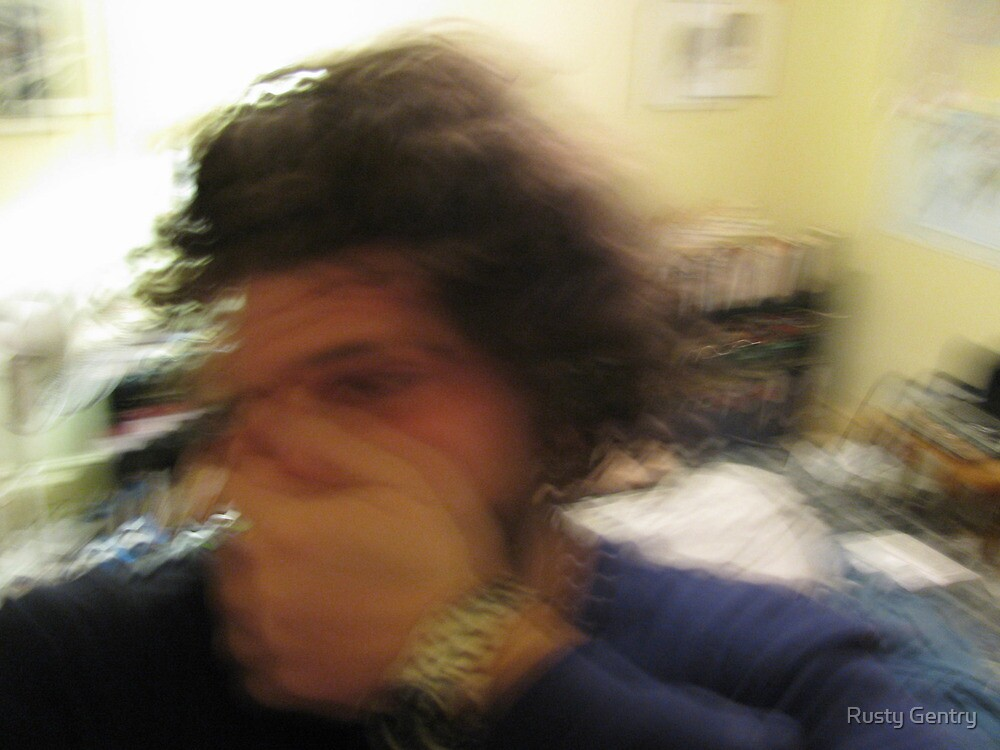 The Blurring of Sanity: A Self-Portrait in ???? by Rusty Gentry