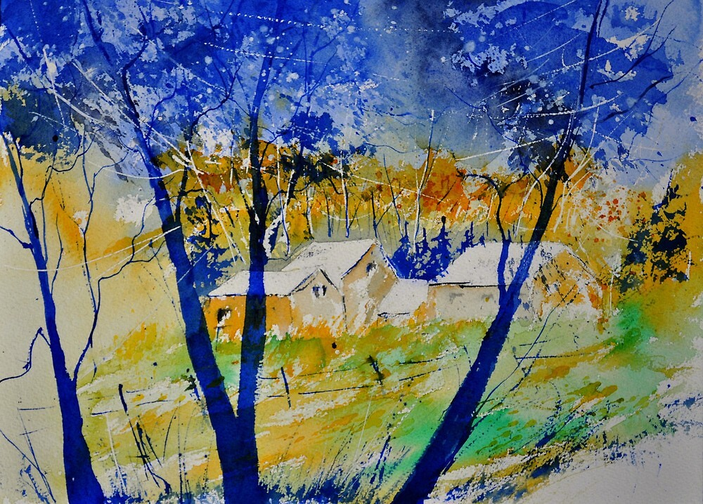 watercolor 012181 by calimero
