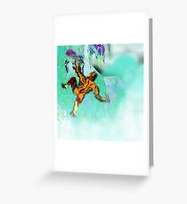 Ice Axe mutant 2. Greeting Card