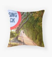 Joggers Track! Throw Pillow