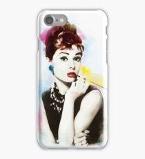 Audrey Hepburn iPhone Case/Skin