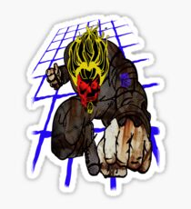 tron2010 demon by ian rogers Sticker