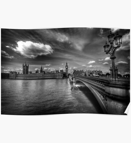 Palace Of Westminster  Poster