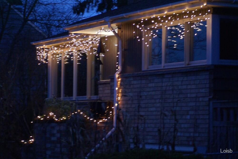 Neighborhood Lights by Loisb