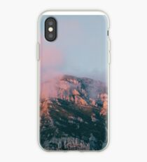 Mountains in the background VI iPhone Case