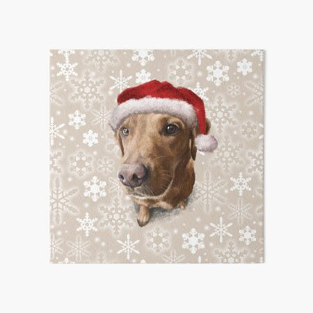 Finley's Christmas Portrait Art Board Print