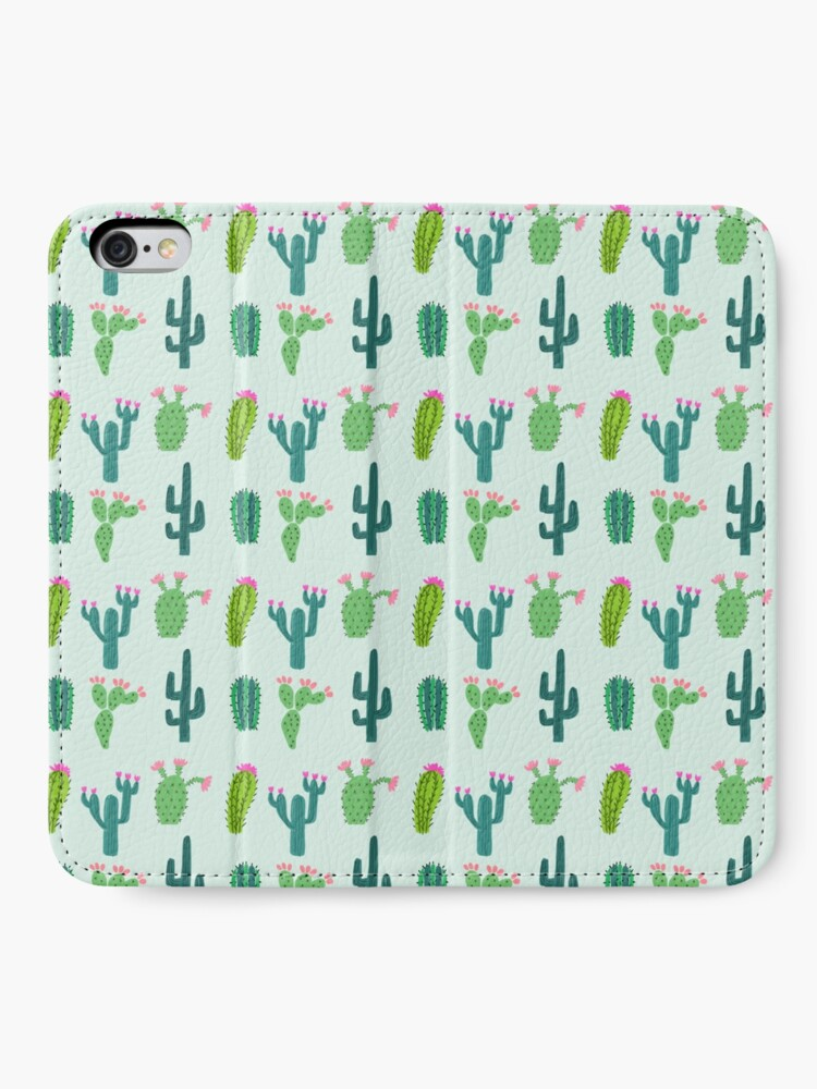 Alternate view of Cactus Time iPhone Wallet