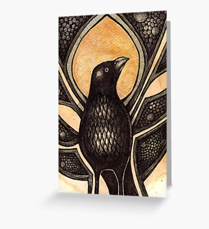 Bowerbird Greeting Card