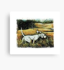 Hunting Dogs Canvas Print