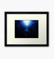 Abstract Underwater Framed Print