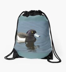 Tufted Duck Drawstring Bag