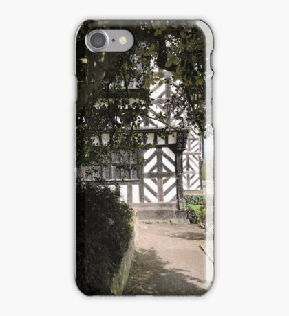 She Came Upon A Neat Little House iPhone Case/Skin
