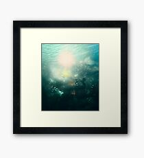 Abstract Underwater 4 Framed Print