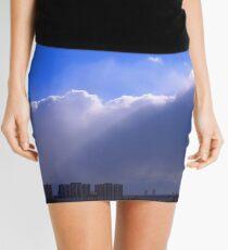 Send In The Clouds Mini Skirt
