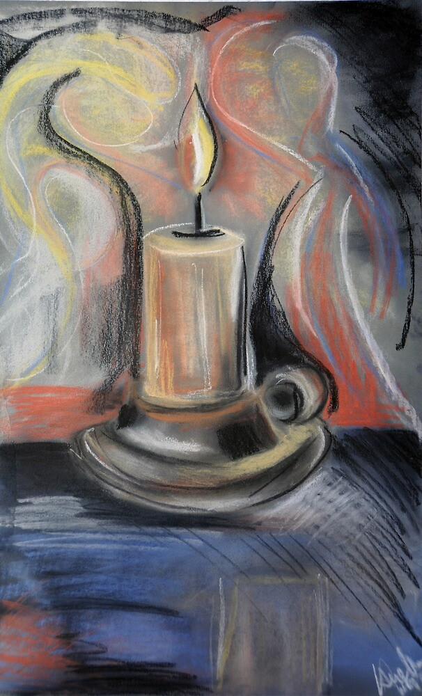 candle by Angela  Wippich