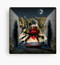 Fragmented Passion Nest Canvas Print