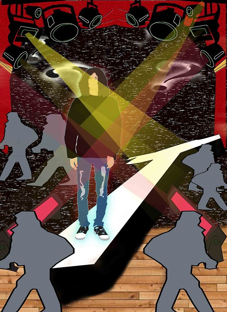 The walking kid by rsinnawi