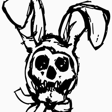 skull bunny by snook