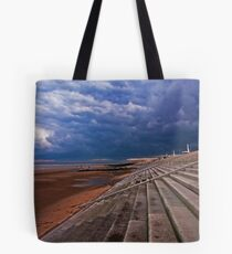 Cleveleys Steps Tote Bag