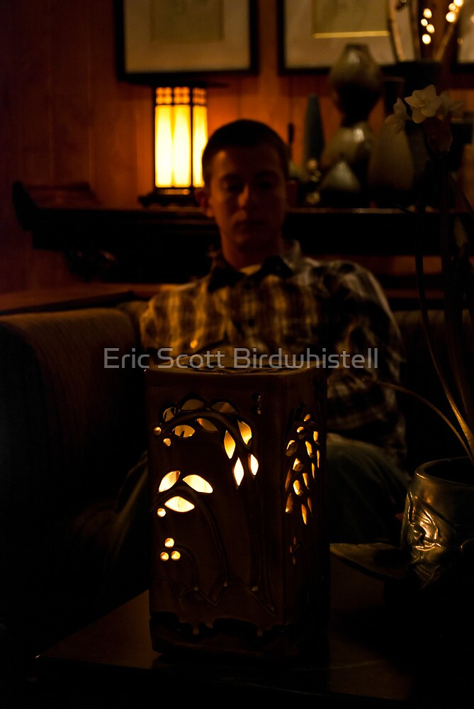 The Glow Of Candlelight by Eric Scott Birdwhistell