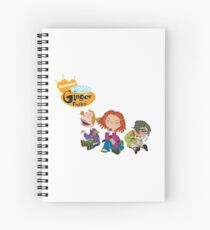 As Told by Ginger Spiral Notebook