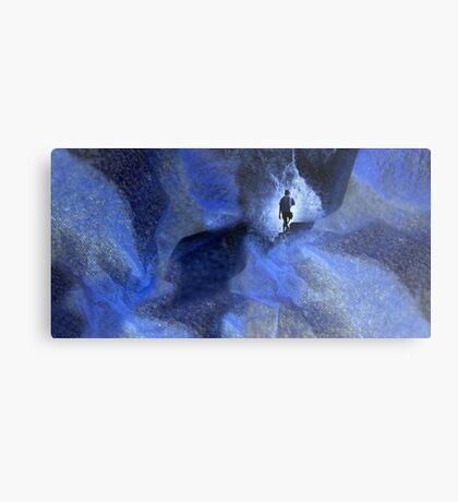 Blue cave Metal Print