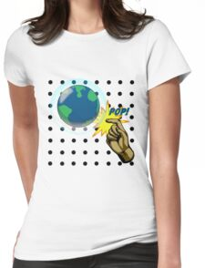 Don't Pop the Ozone Layer Womens Fitted T-Shirt