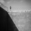 Robben Island Prison Wall by jonwhitehead