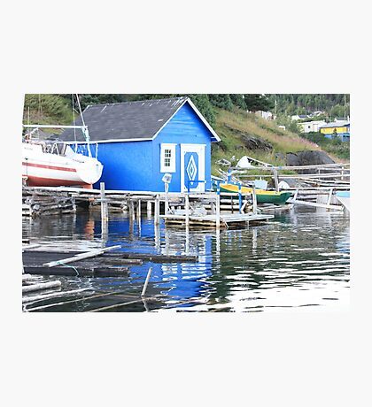 Blue in The Water Photographic Print