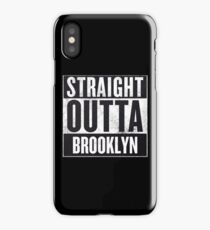 Straight Outta Brooklyn iPhone Case/Skin