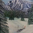What a Great day to Ski by towncrier