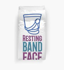 Marching Band - Resting Band Face Duvet Cover