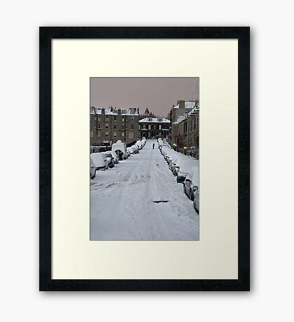 Let's Walk Framed Print