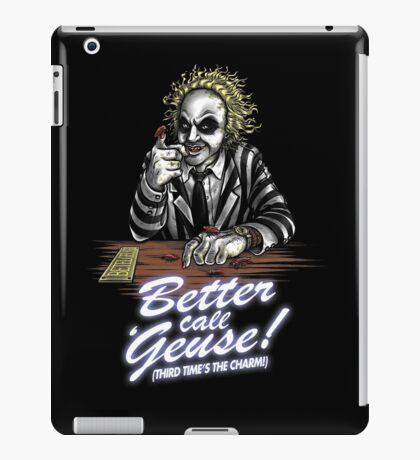 Better Call 'Geuse! iPad Case/Skin