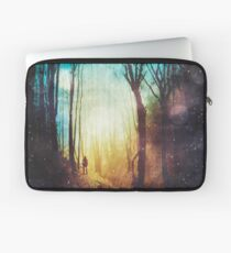 the magic of quiet places Laptop Sleeve