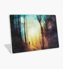 the magic of quiet places Laptop Skin