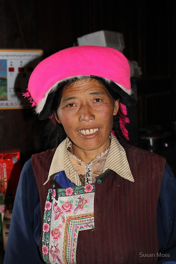 Faces of China - 5 by Susan Moss