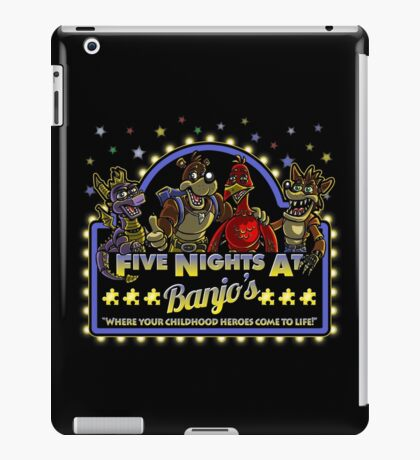 Five Nights at Banjo's iPad Case/Skin