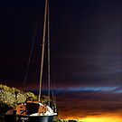 Boats at Sunset by Don Alexander Lumsden (Echo7)